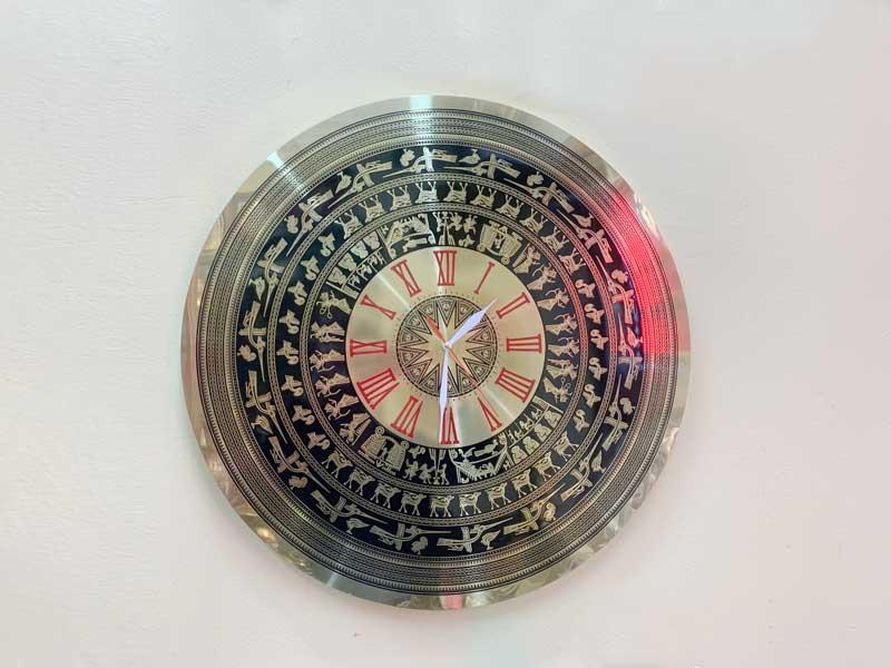 Đồng hồ mặt trống đồng số la mã size 60cm thiết kế mới 2021
